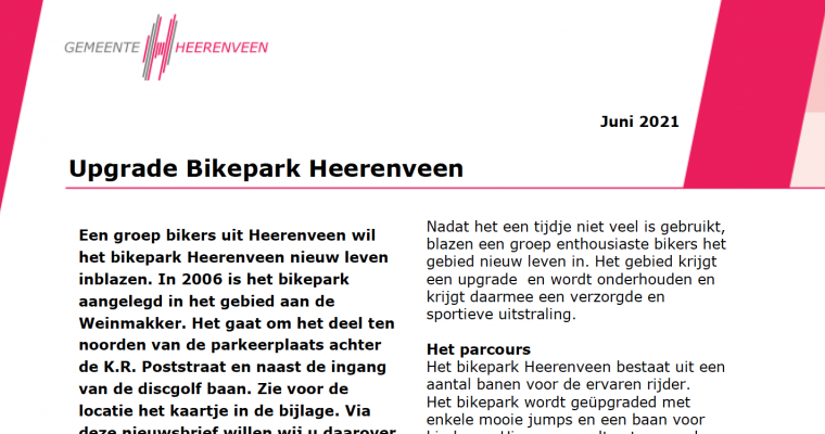 Bikepark in Heerenveen Noord